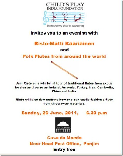 risto folk flute poster June 2011