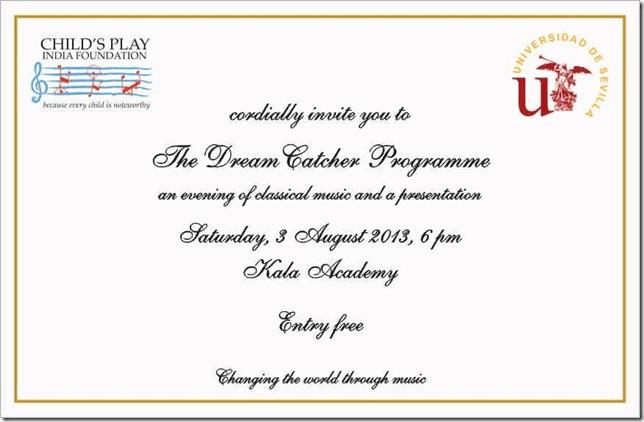 dreamcatcher invitation