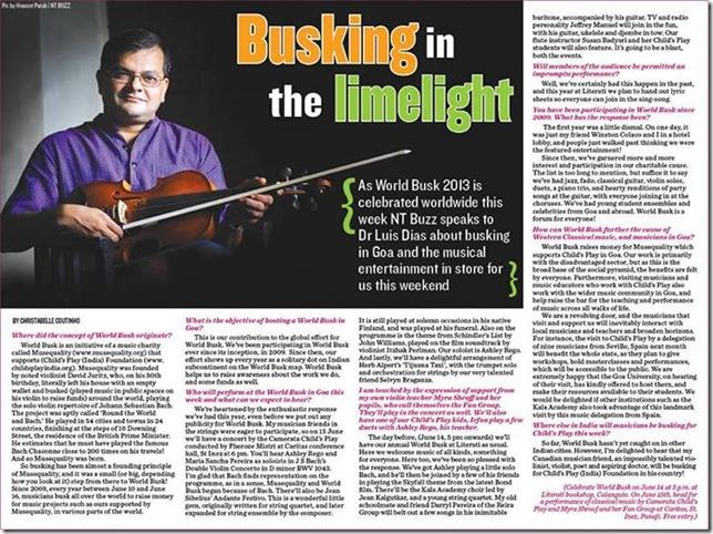 Press - NT Luis interview
