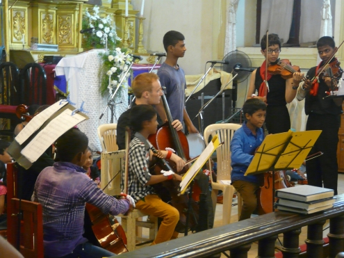 Our 9 cello kids were wonderful - please continue to support this project!