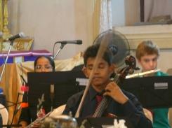 Leo Velho (Cello), Valerie Menezes & Friedrich Walzel (Flute)