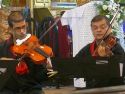 Anand Lobo & Luis Dias (viola)