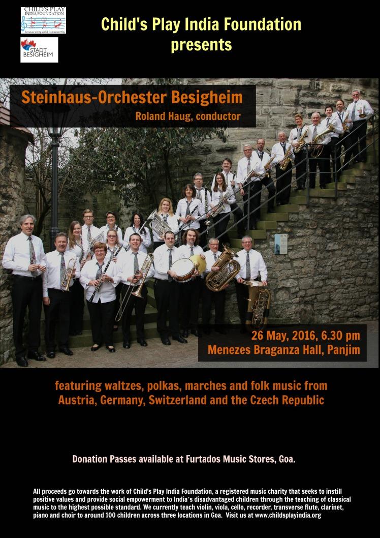 steinhaus-orchester poster